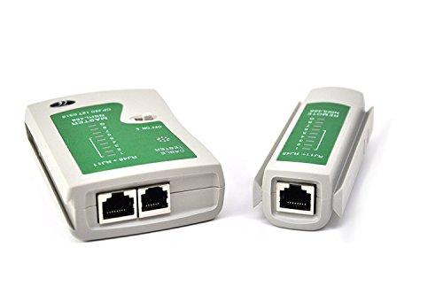 Xiton Red de Cable Tester LAN RJ45 RJ11 Cat 5 N21CL Herramienta...