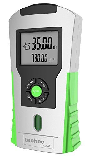 Technoline Ultraschall-Entfernungsmesser WZ 1100, silber grün