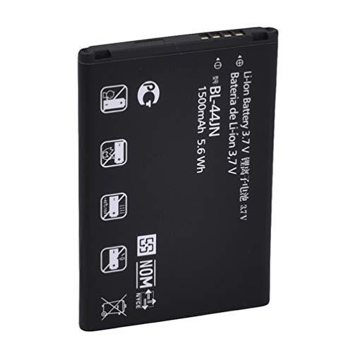 Sensiabl Reemplazo de batería de Iones de Litio estándar 1500Mah de Calidad para café Negro LG Bl-44Jn
