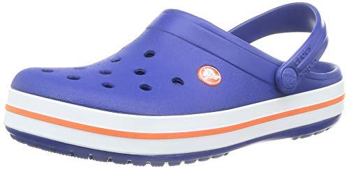 Crocs Crocband Clog K, Zuecos, Cerulean Blue, 32/33 EU