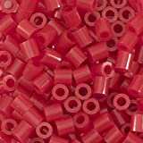 Vaessen Creative Perline a Fusione, Rosso Scuro, Set di 1100 Pezzi per i Lavori di Fai-da-...