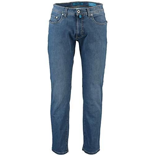 Pierre Cardin Herren Lyon Tapered Futureflex Strech Denim Jeans, blau 45, 40W / 32L