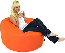 Comfy Large  Bean Bag , Orange