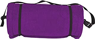 Ashford Textiles Pillow Towel- Beach Towel with Built in Pillow (Purple)