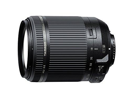 Tamron 18-200mm F/3,5-6,3 Di II VC Obiettivo Stabilizzato per Nikon, Nero