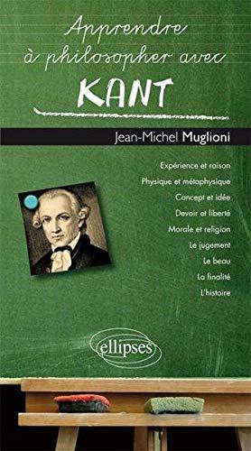 Apprendre à Philosopher avec Kant