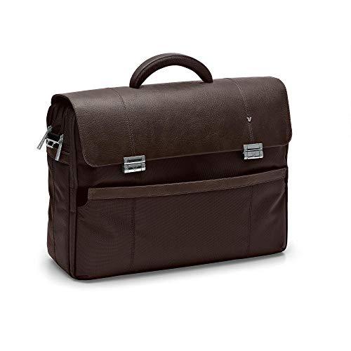 RONCATO Harvard borsa porta pc 17'' con organizer interno e tracolla Testa di moro