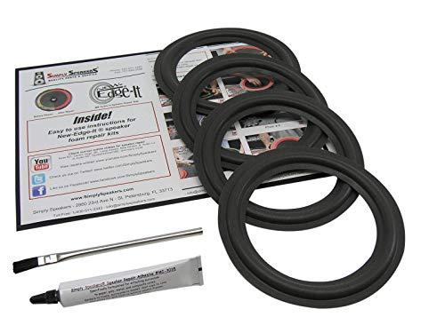 Advent Laureate 6.5 Inch Foam Speaker Repair Kit FSK-6.5-4 (4 Pack)