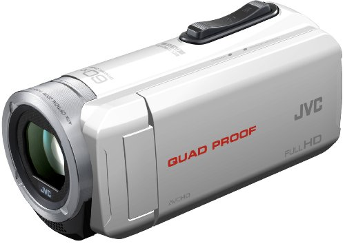 JVC GZ-R15 Camcorder - White (40x Optical Zoom) 3 inch LCD