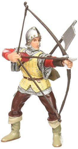 Papo 39384 - Bogenschütze, Spielfigur, rot