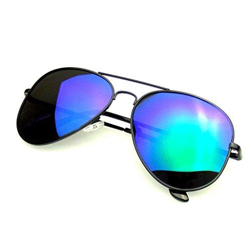 Emblem Eyewear - Aviator Occhiali Da Sole Vintage...
