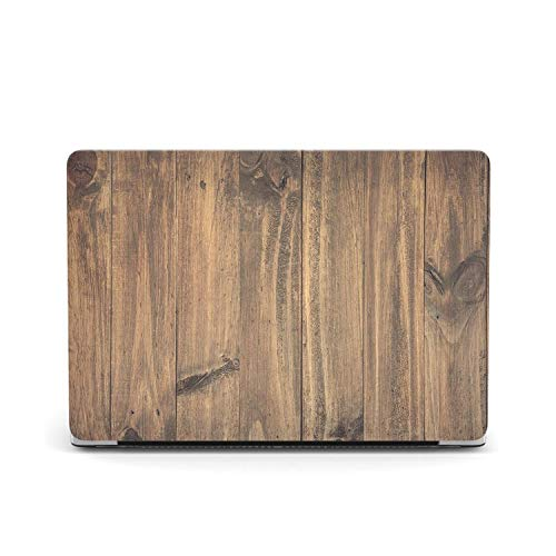 Peach-Girl Hard Wood Cover Case for Macbook Air 13 A1932 A2018, Laptop Case Cover for Mac Book Air 13 Inches A1466 A1369 A2179 2020 9-A1466 A1369