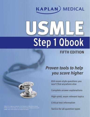 Kaplan Medical USMLE Step 1 Qbook (Kaplan USMLE)