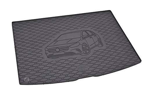 Passgenau Kofferraumwanne geeignet für Mercedes B-Klasse W247 ab 2019 ideal angepasst schwarz Kofferraummatte