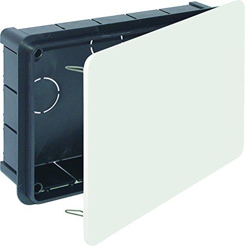 Solera 614 - Caja 200x130x60 tapa blanco garra metálica bolsa