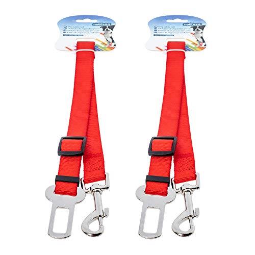 RC ocio Cinturon Perro Coche para Perros pequeños/Correa con Enganche al cinturón para la sujeción de Mascotas/Correas para los Asientos del Coche con Enganche al cinturón