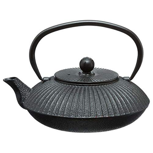 Secret de gourmet Théière Garden - 0,8 L (Noir)