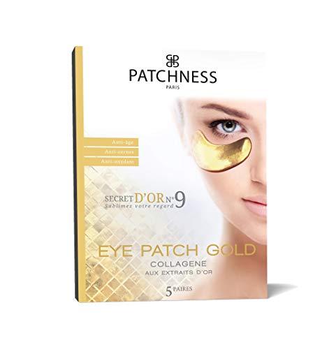 Patchness Patch Anti-Âge Collagène Extraits d'Or 5 Paires