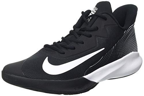Nike Precision IV, Sneaker Unisex Adulto, Negro/Blanco, 44 EU