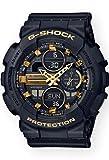 G-Shock GMAS140M-1A Black/Gold
