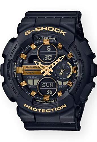 G-Shock GMAS140M-1A Negro/Oro