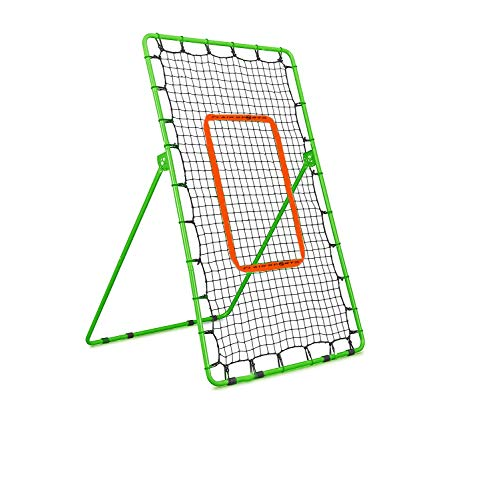 Flair Sports Pitch Back Rebound Net - Baseball Softball Lacrosse Tennis - Pitching and Throwing Practice Return Net - Pitchback Trainer
