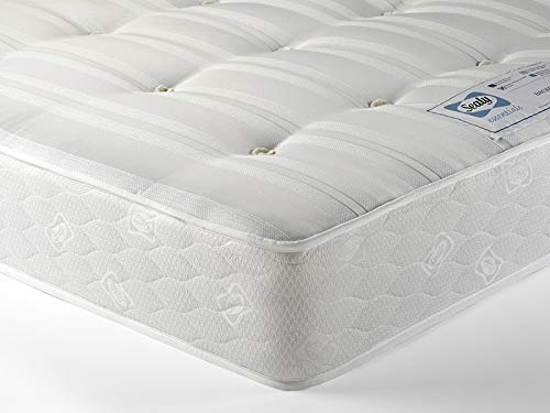 Sealy Posturpedic Ortho Backcare Firm Spring Tufted Tencel Purotex Mattress 4FT6