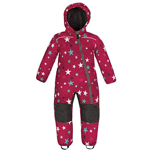 anndora Schneeoverall für Kinder Softshell Gr. 80 Winddicht Wasserfest Atmungsaktiv