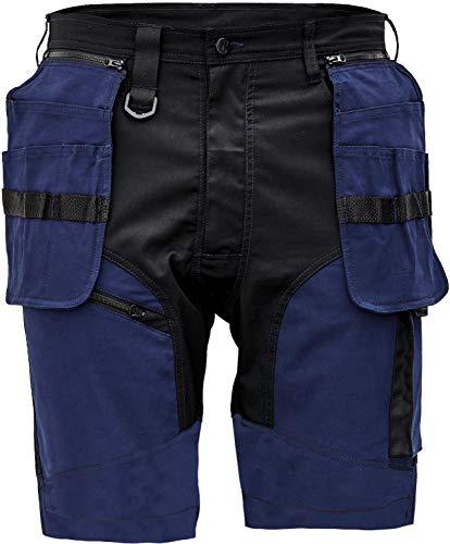 Keilor Pantalones Cortos de Trabajo de Algodón Elástico para Hombre para Verano...