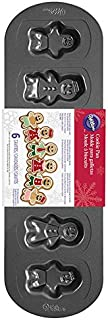 Wilton 2105-6933 6-Cavity Gingerbread Family Cookie Pan