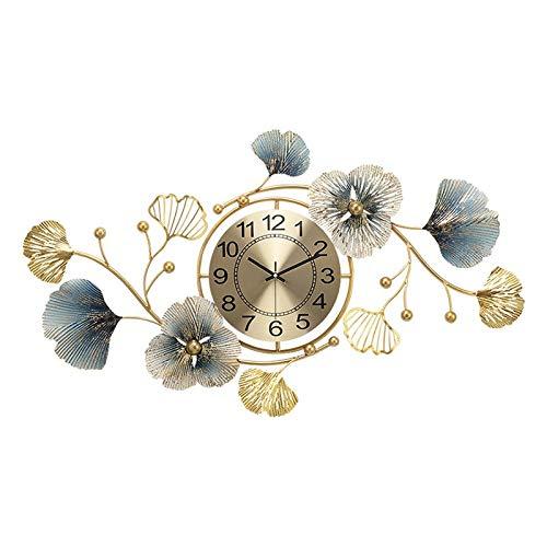 WANZSC Reloj de pared silencioso para el hogar, diseño vintage