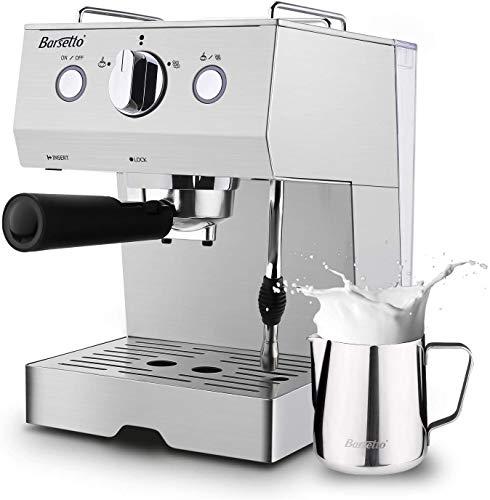 Espresso Machines 15 Bar Espresso Coffee Machine with Milk Frother Wand for Espresso, Cappacino,...