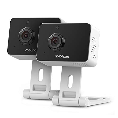 MeShare 1080p Mini Wireless Two-Way Audio Camera with Free Six Month Cloud...