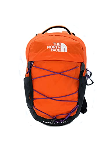 The North Face Borealis Mini Backpack, Red Orange/Gravity Purple, OS