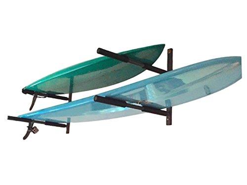 StoreYourBoard Surfboard Storage Rack | Double Surf Home Wall Mount