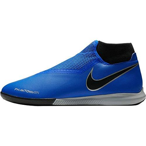 Nike H-fußballschuh Vison Academy Dynamic IC, Zapatillas de Fútbol Hombre, Azul (Racer Blue/Racer Blue-Black 400), 45 EU