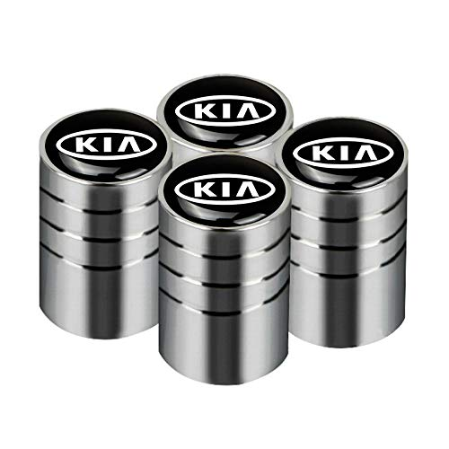 4 pezzi Distintivo por Auto Tappo valvola pneumatico Tappo parapolvere por KIA K2 K3 K5 Sorento Sportage R Rio Soul Cap Car Styling Accessori Auto por KIA C.