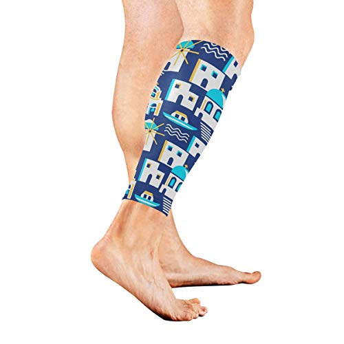 YudoHong Black Pottery Ancient Greek Mythology Calf Compression Sleeve Leg Compression Socks for Shin Splint Calf Pain Relief Men Women and Runners Improves Circulation Recovery