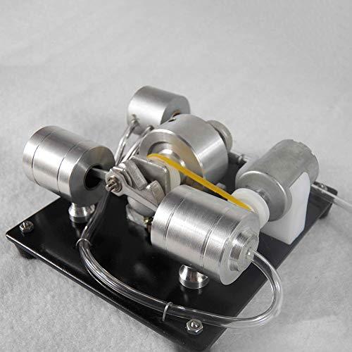 XFY model van de generator, kleine stoomreiniger, metalen stoommotor, USB-oplading, aanpasbaar, 1,4 ml, voor het weergeven van instrumenten
