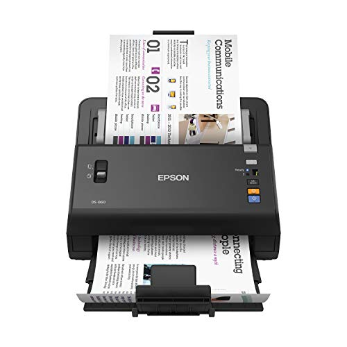 Epson WorkForce DS-860 Color Document Scanner,Black
