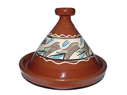 Marokkanische Tajine zum Kochen Ø 35 cm für 3-5 Personen - 905118-00091