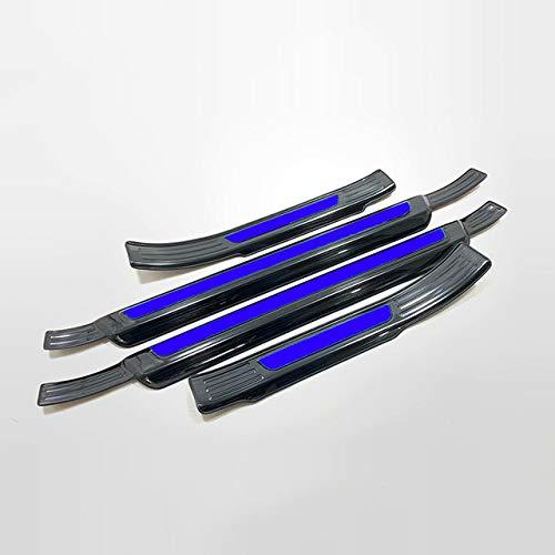 YXSMTB RVS Deur Sill Protectors Scuff Plate Welkom Pedaal Drempel Pads Trim Automotive trim,Voor Audi Q3 2019 2020