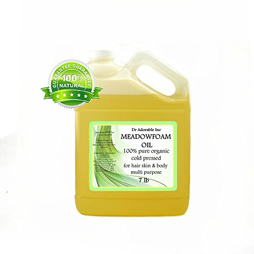 Meadowfoam semillas aceite puro orgánico por Dr. Adorable 128 FL. OZ/1 gallon