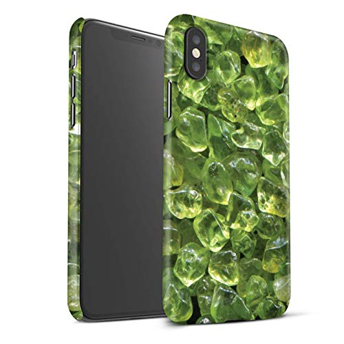 Stuff4 Var voor Geboorte/Edelsteen IP-3DSWM Apple iPhone XS Max August/Peridot/Crystal