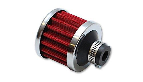 Vibrant Performance 2164 Crankcase Breather Filter W/Chrome Cap-3/4In