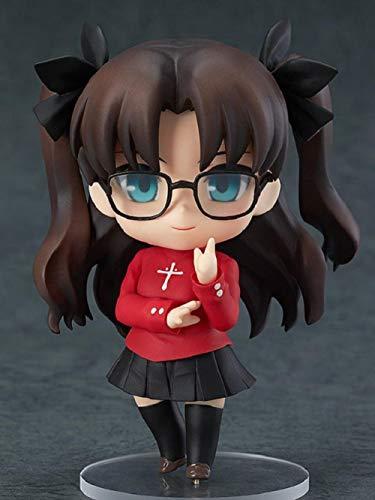 Henypt Modelo De Personaje De Anime Anime Tohsaka Rin Linda Figura Pintada Modelo De Juguete 10 Cm Estatua Figura Juguete Colección Decoración Regalo Anime Figura De Acción