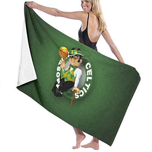 Franklin Sports Boston Celtics Piece Bath Towel Extra Large 31'X51' Beach Towels Thick Superfine Fiber Highly Luxury Quality Towels