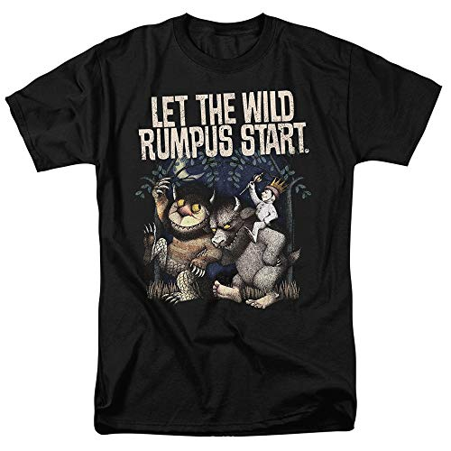 Where The Wild Things are Wild Rumpus T Shirt & Stickers (Small)