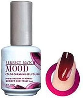 LeChat Mood Color Changing Soak Off Gel Polish - Groovy Heat Wave - MPMG01