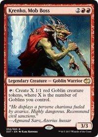 Wizards of the Coast Krenko, Mob Boss - Duel Decks: Merfolk vs. Goblins
